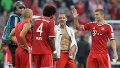 Guardiolův Bayern zahájil bundesligu výhrou 3:1 nad Gladbachem
