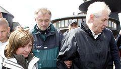 Penzion, který odmítl Zemana, řeší policie