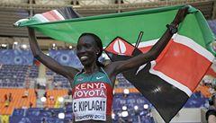 Kiplagatová jako první žena obhájila na MS maratonský triumf