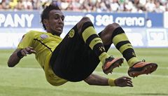 Posila Aubameyang zařídila Dortmundu vítězný start do bundesligy
