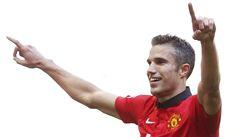 Manchester United vyhrál podvacáté Superpohár, góly dal Van Persie