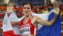 Česká překážkářka Hejnová je v nominaci na nejlepší atletku světa