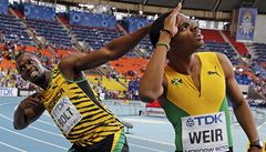 Úžasný Bolt na MS vybojoval třetí zlato, Masná doběhla poslední
