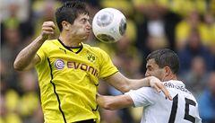 Dortmund porazil s potížemi nováčka a vede o skóre bundesligu