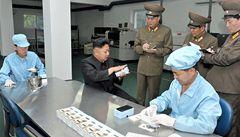 Severní Korea vyvinula vlastní smartphone, Kima nadchl