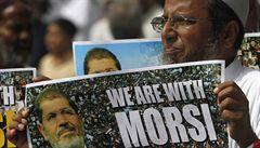 Egypt soudí svého exprezidenta Mursího. Za špionáž mu hrozí trest smrti