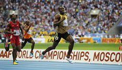 Bolt byl k neporažení i na dvoustovce. Vyhrál časem 19,66