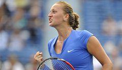 Kvitová v New Havenu postoupila do semifinále. Čeká ji Zakopalová