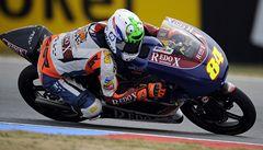 Kornfeil po pádu nedokončil motocyklovou GP Aragonie