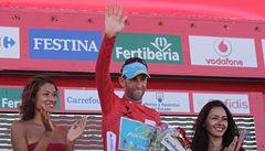 Gilbert se dočkal prvního letošního vítězství. Vueltu dál vede Nibali