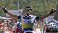 První spurt pelotonu na letošní Vueltě vyhrál Matthews, vede Nibali