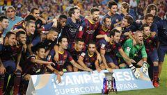 Messi nedal penaltu, ale Barcelona španělský Superpohár vyhrála