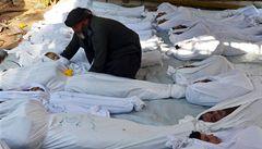 Svět si připomene výročí chemického útoku na syrskou Ghútu