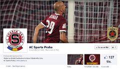 Na Facebooku vládne Sparta, za ní je Plzeň a Slavia