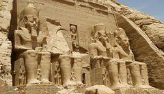 Abú Simbel, nejkrásnější chrám jižního Egypta
