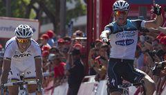 Cyklista Štybar po drsné sobotě vzdal Vueltu v královské etapě