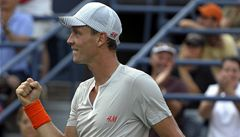 Američan vzdoroval. Berdych ale nakonec postoupil do 3. kola US Open