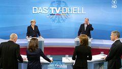 Jasná vítězka Merkelová může nakonec zůstat sama