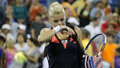 Na US Open nečekaně vypadla Radwaňská, favorit Djokovič postoupil