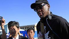 Rodman odletěl do KLDR. Pro Kima zahájí basketbalovou ligu