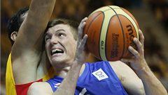 Basketbalisté na ME nestačili na španělské obhájce zlatých medailí