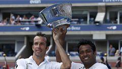 Štěpánek na US Open slaví. S Paesem vybojoval druhý grandslamový titul