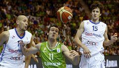 Jsem na tým hrdý, řekl kapitán vyřazených basketbalistů Bartoň