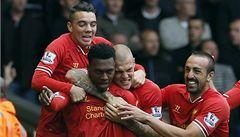 Liverpool vládne anglické lize, vyhrál i Arsenal