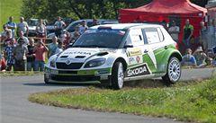 Kopecký vyhrál potřetí v kariéře Barum rallye a dál kraluje ME