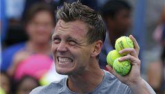 Berdych je v osmifinále US Open, hladce přehrál Benneteaua