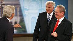 Vítězství CSU přivítaly euforické 'erekce', přeřekla se reportérka