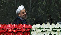 Nikdy nevyrobíme jaderné zbraně, slíbil íránský prezident Rúhání