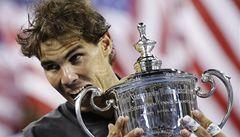 Tenista Nadal porazil Djokoviče a podruhé vyhrál US Open