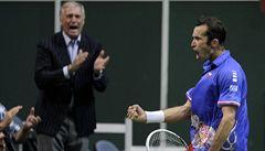 Smích a velká gesta. Smetánka na tenise: Langer, Chrenek, Kocourek