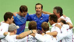 Fantazie. Čeští tenisté znovu postoupili do finále Davis Cupu