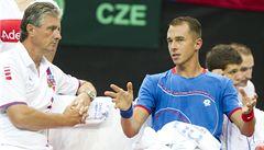 Rosol sérii porážek nezastavil ani v Davis Cupu, padl i Veselý