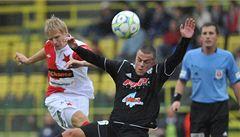 Vydřená výhra. Slavia v poháru prošla přes HFK Olomouc