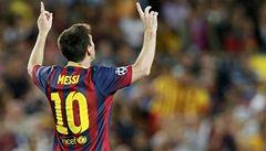 Messi sestřelil hattrickem Ajax, Chelsea narazila na Basilej