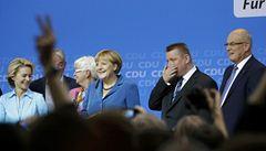 V Německu se čeká vznik velké koalice. Podle ekonomů pomůže s krizí