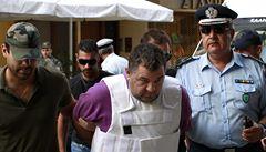 Řecká policie zadržela osm extremistů kvůli vraždě místního zpěváka