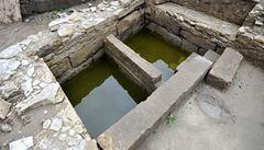 Archeologové objevili při vykopávkách v Chrudimi rituální židovskou lázeň