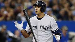 Rodriguez odpálil 24. homerun a překonal baseballovou legendu Gehriga