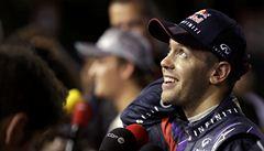 Vettel vyhrál kvalifikaci v Singapuru a potvrdil svou suverenitu