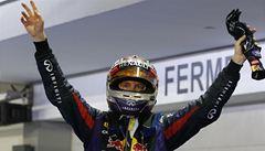 Vettel v Singapuru opět vyhrál a míří za titulem mistra světa F1