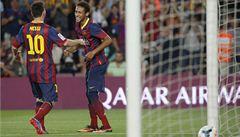 Barcelona vyhrála i šestý ligový zápas, Neymar poprvé skóroval