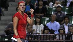 Kvitová je na turnaji v Tokiu v semifinále, Šafářová vypadla