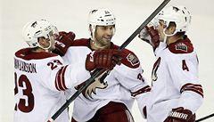 Zbyněk Michálek rozhodl v přípravě NHL o výhře Phoenixu nad Calgary