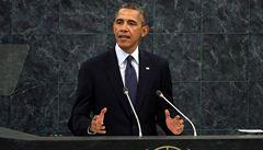 Obama: Sýrie a Írán vyžadují kombinaci diplomacie a neústupnosti
