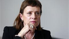 Šéfka ERÚ Vitásková podala stížnost proti stíhání. Chce advokáta ex offo