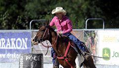 Kovbojové z Česka závodili na Plzeňsku v rodeu